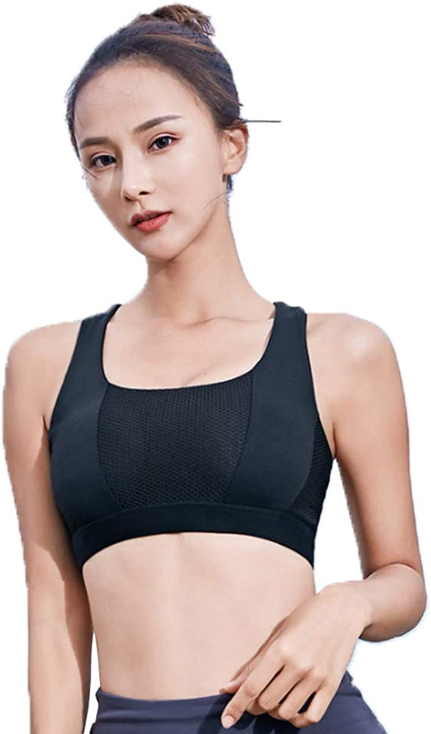 ZENWEN Women's Fitness Shockproof Yoga Bra Cross Belt Beauty Back Fitness Running Bra QuickDrying Yoga Wear