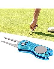 Vouwbare Golf Pitchfork, Kleine Grootte Divot Reparatie Tool Hoge Betrouwbaarheid voor Openlucht
