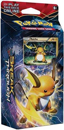 Pokemon XY Breakthrough Burning Spark Theme Deck [Raichu]