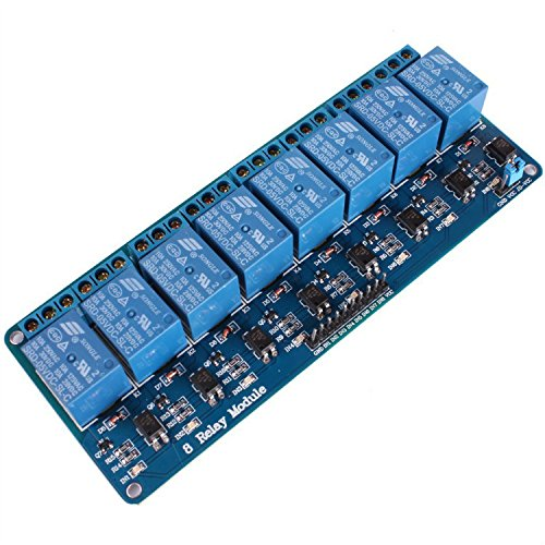 GEREE 8 Channel DC 5V Relay Module for Arduino Raspberry Pi DSP AVR PIC ARM 9b73881d8d78