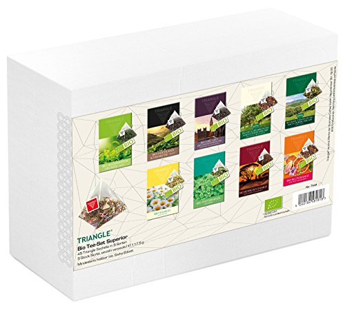 Triangle Teesortiment Bio 48 Sachets - 12 Sorten
