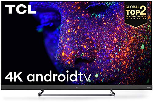 TCL 138.7 cm (55 inches) C8 Series 4K Ultra HD LED Smart Android TV 55C8 with Built-In Farfield (Black) (2020 Model)