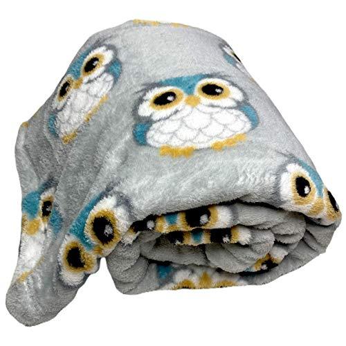 Lightweight Fleece Throw Blanket