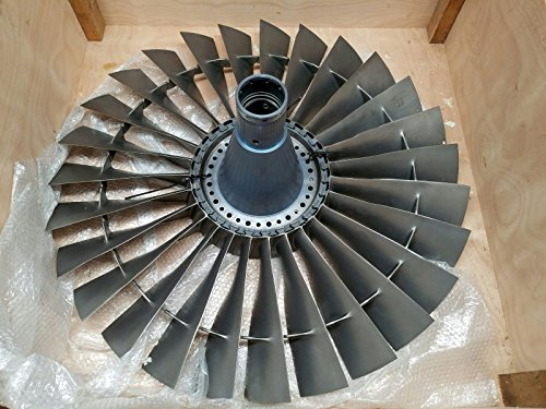 Pratt & Whitney JT8D Stage 1 Compressor Fan Boeing 737 Jet Engine Disk