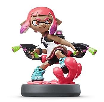 Nintendo amiibo - Inkling Girl  Neon Pink   Splatoon series  Japan Import  Original Version