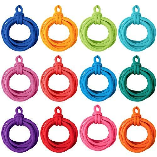 Loom potholder Loops Weaving Loom Loops with 12 Colors for Kids DIY Crafts Supplies (192)