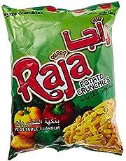 Raja Potato Crunchies Veg - 70 gm