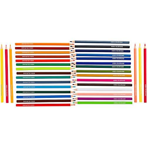 KIDEA- Lápices de Colores (Globo 37946)