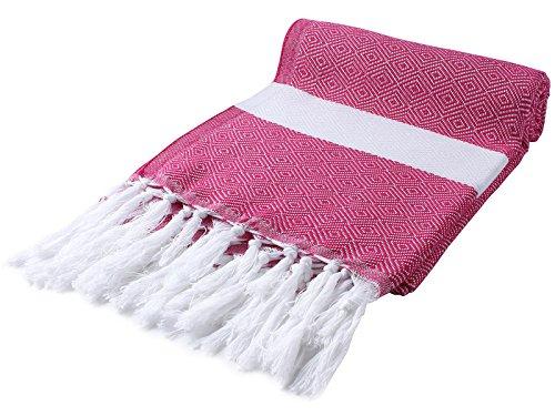 Cacala Peshtemal Turco Toalla de baño 37x 67'100% algodón