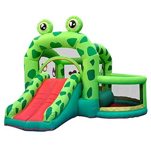 AJH Puertas hinchables, juguetes deportivos, parque hinchable para niños, cama de salto para interiores, tobogán para niños y niñas, juguete para niños, cama elástica plegable