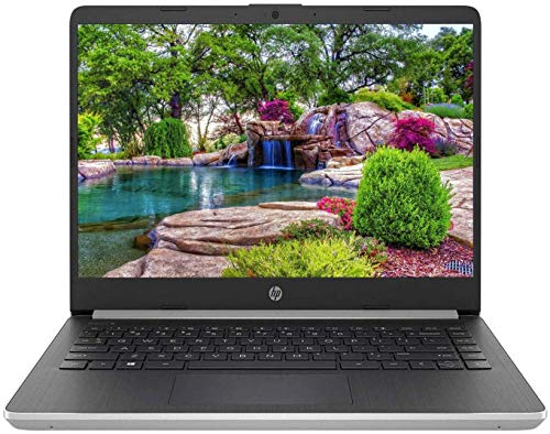 Newest HP 14' HD Micro-Edge Business Laptop | 10th Gen Intel Dual-Core i3-1005G1 Processor up to 3.4GHz | 8GB RAM | 256GB SSD | USB-C | HDMI | WiFi | Bluetooth | Windows 10 | Silver (Renewed)
