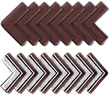 16-Pack Bebe Earth Baby Proofing Edge and Corner Guard Protector Set