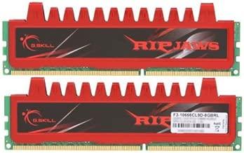 8GB G.Skill DDR3 PC3-10666 1333MHz Ripjaw Series CL9 (9-9-9-24) Dual Channel kit