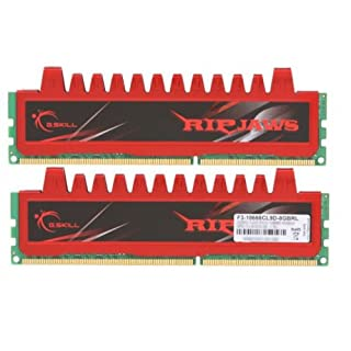 G Skill Ripjaws F3-10666CL9D-8GBRL - Memoria RAM 8 GB DDR3 (1333MHz,Cas 9) (B003SLFBUW) | Amazon price tracker / tracking, Amazon price history charts, Amazon price watches, Amazon price drop alerts
