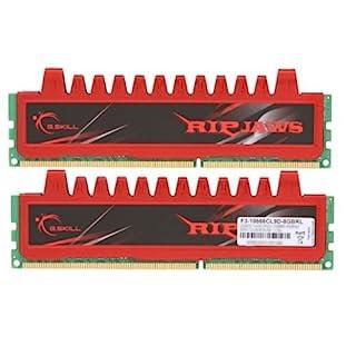 G Skill Ripjaws F3-10666CL9D-8GBRL - Memoria RAM 8 GB DDR3 (1333MHz,Cas 9) (B003SLFBUW)   Amazon price tracker / tracking, Amazon price history charts, Amazon price watches, Amazon price drop alerts