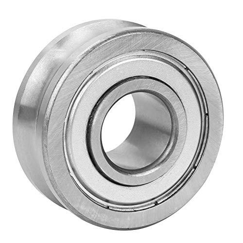 Rodamiento de rodillos guía de acero con ranura en U para movimiento lineal industrial Soporte y guía(01)