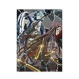 Custom Jigsaw Puzzle 1000Pcs,Anime Sword Art Online Asuna Y Sinon Entertainment Puzzle, Desafiantes Rompecabezas Fotográficos para Juegos Entre Padres E Hijos,75.5x50.3 cm