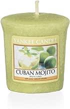 Yankee Candle Samplers Votive Candles Wax–Cuban Mojito 4.6x 4.8x 1cm
