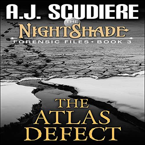 The Atlas Defect audiobook cover art