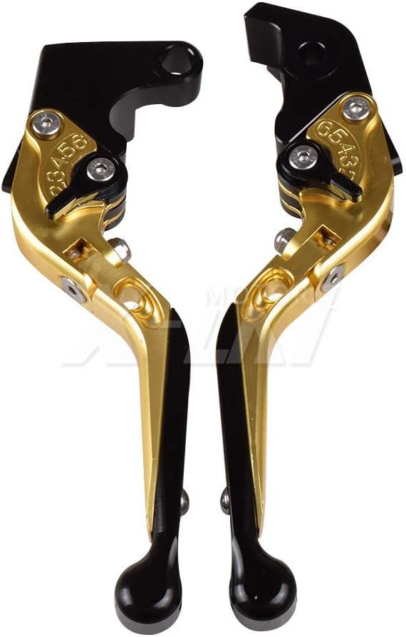 Black GSXR1300 1999 2000 2001 2002 2003 2004 2005 2006 2007 GSX-R1300 GSXR 1300 GSX1300R GSX1300 R Motorcycle CNC Brake Clutch Levers Folding Extendable KYN for Suzuki Hayabusa