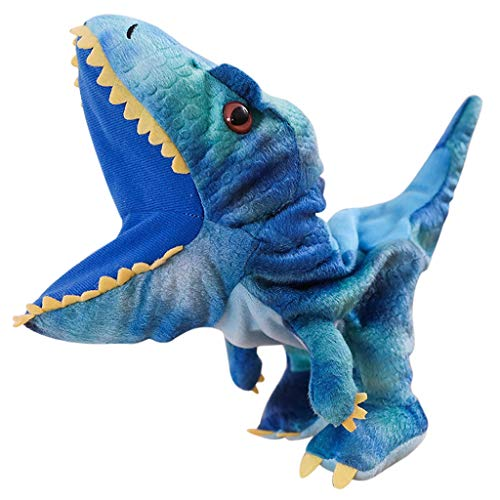 LianMengMVP Dinosaurier Handpuppe, Tier Marionette Handschuh Puppen Weihnachten Hand Puppe Theater Puppe Spielzeug Plüsch Geschichte Sprechen Lernhilfe Lustiges Geschenk Kind