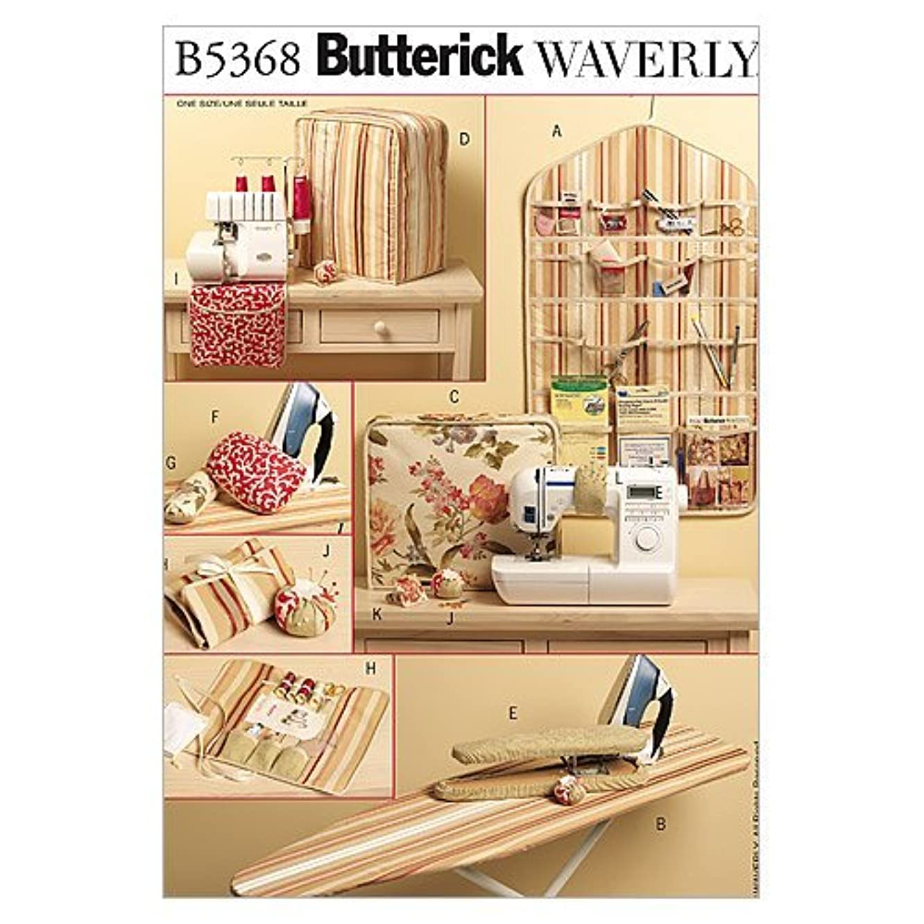 BUTTERICK PATTERNS B5368 Sewing Items, One Size Only