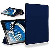 Forefront Cases Lenovo Tab 2 A7-20 Funda Carcasa Stand Smart Case Cover Protectora Plegable  Ultra Delgado Ligera y Proteccin Completa del Dispositivo con Funcin Auto Sueo/Estela (Azul Oscuro)