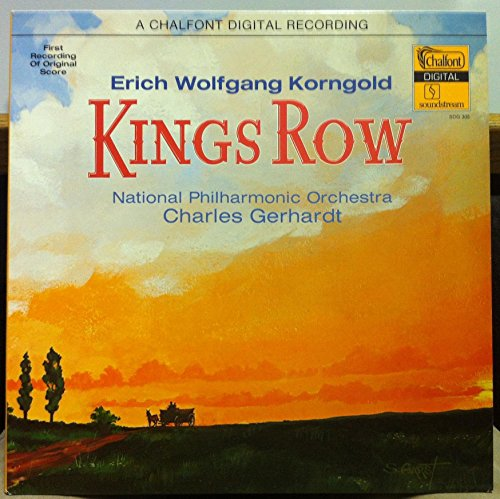 Erich Wolfgang Korngold - National Philharmonic Orchestra , Charles Gerhardt - Kings Row - Chalfont Records - SDG 305