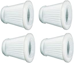 Black & Decker PVF100 Replacement Filter for PHV100/PHV1800 18-Volt Pivoting Vac 4-PACK by Black & Decker