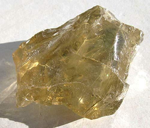 Brasilianit, Lemontin, Rohstein, klarer Edelstein 23 g, 40 mm