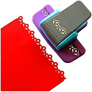 Coins D/écoratifs Scrapbooking Cr/éation de Cartes et Plus Pour Projets DIY Nuage Vaessen Creative Perforatrice de Papier
