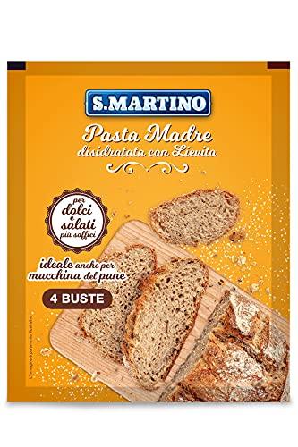 S.Martino - Lievito Madre - 1 Confezione da 4 Buste