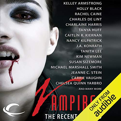 Vampires audiobook cover art
