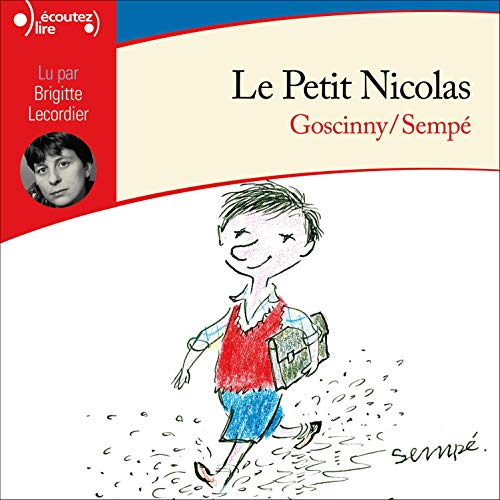 Le Petit Nicolas audiobook cover art