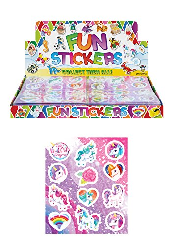 Pegatinas Unicornio Pack 96 pegatinas