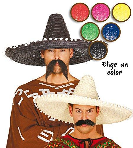 Fiestas Guirca Maxi Mexikanischer Sombrero 60 cm Hut für Verkleidung Mexiko