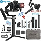 FeiyuTech AK4500 3-Axis Gimbal Stabilizer Payload 4.6 KG Compatible with Mirrorless &...