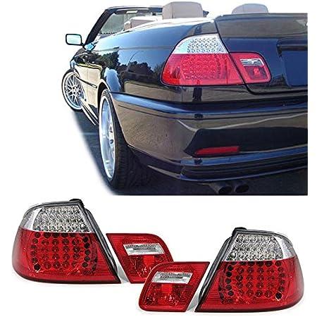 Carparts Online 13581 Led Rückleuchten Rot Klar Facelift Optik Auto