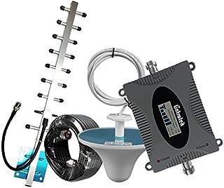 Lintratek携帯電話信号増幅器3G CDMA / 3G WCDMA / 4G FDD-LTE 2100MHz (Band1) 65dB携帯電話用信号ブースターフルセット200-300平方メートルDocomo、Softbank、AUユーザーに適用