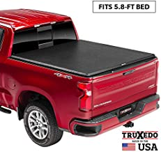 TruXedo TruXport Soft Roll Up Truck Bed Tonneau Cover | 272401 | fits 2019 - 2020 New Body Style GMC Sierra & Chevrolet Silverado 1500 (Will not fit Carbon Pro Bed) 5'8