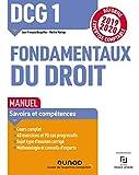 DCG 1 Fondamentaux du droit - Manuel - Réforme 2019/2020 - Réforme Expertise comptable 2019-2020 (2019-2020)