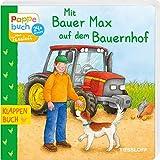 Mit Bauer Max auf dem Bauernhof: Berufe, Tiere, Fahrzeuge entdecken (Bilderbuch ab 2 Jahre) - Evelyn Frisch