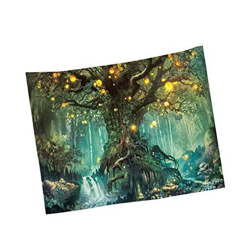kexinda Bosque del árbol de la tapicería de la Sala Colgar de...