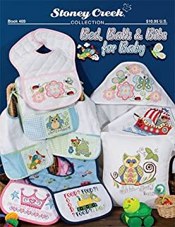 Bed, Bath & Bibs for Baby (Book 469) Cross Stitch Chart