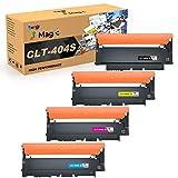 7Magic Cartuchos de Tóner Compatible para Samsung CLT-P404C CLT-404S CLT-K404S CLT-C404S CLT-M404S CLT-Y404S para Samsung Xpress SL C430 C430W C480 C480W C480FW C480FN C432W C433W C482W C483W