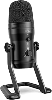 Fifine K690 USB Polar Cardioid Condenser Microphone Podcast/Recording for PC/MAC