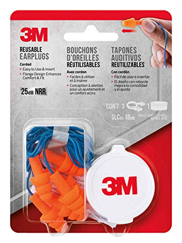 3M - T Corded Reusable Earplug