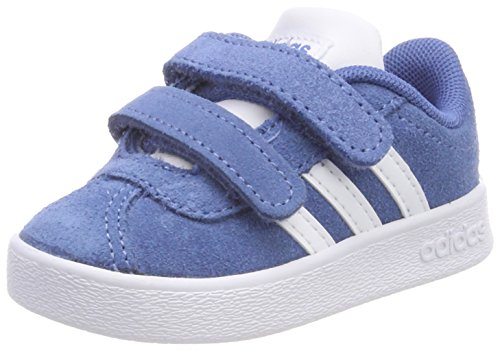 adidas Unisex Baby VL Court 2.0 CMF Hausschuhe, Blau (Azretr/Ftwbla/Gridos 000), 20 EU