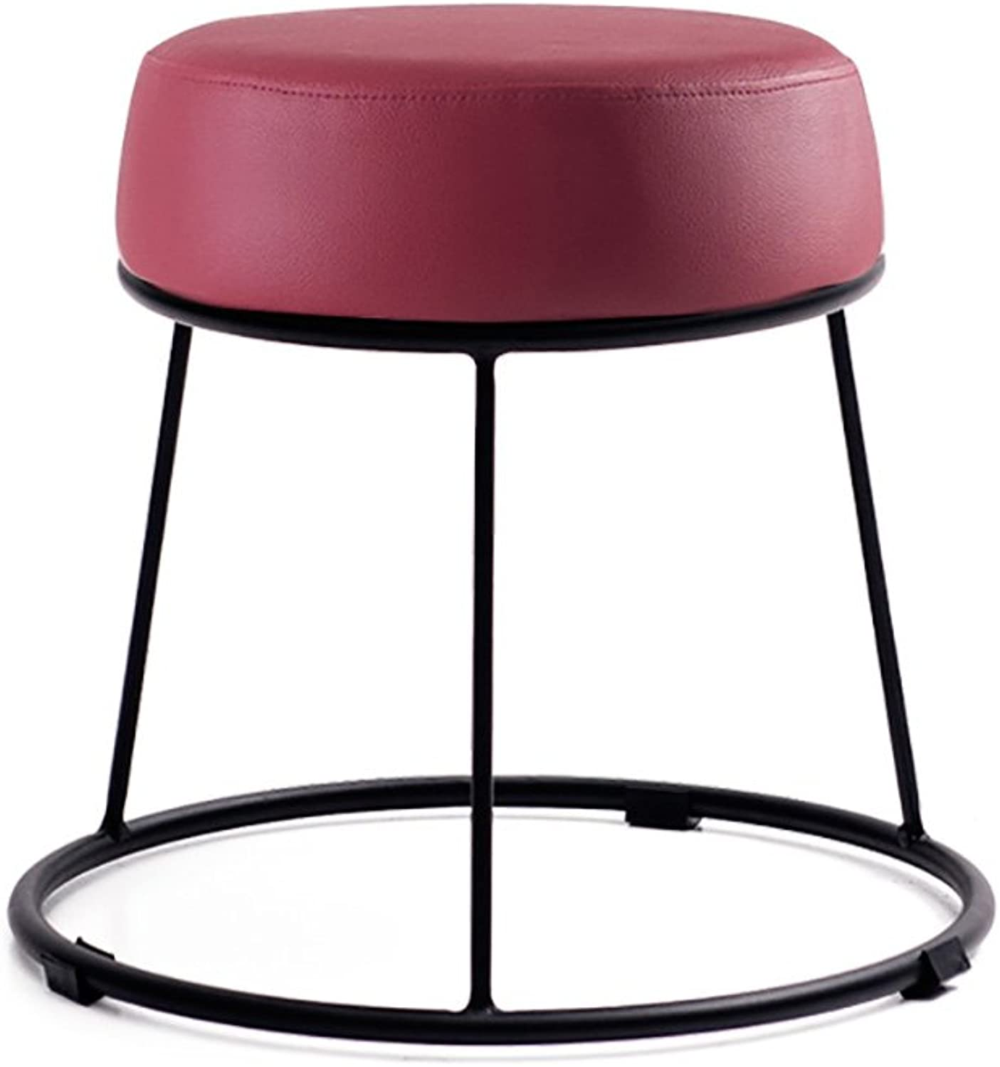 European Chair Soft Stools Padded Stool Home Stool Vanity Stool Small Stool Lazy Bench (color   B, Size   31.537.5cm)