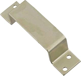 National Mfg. N235291 Closed Bar Holder For Use With 2x4 For doors, Zinc